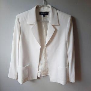 Kasper white blazer